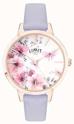 Limit | orologio da giardino segreto da donna | quadrante rosa e bianco | strp viola 60022