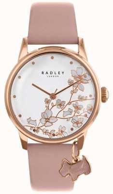 Radley Delle donne | fiore finale | cinturino in pelle rosa RY2692