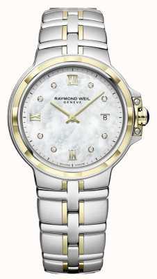 Raymond Weil Parsifal da donna | quadrante diamante | due toni 5180-STP-00995