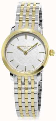 Frederique Constant | donne | due toni linea sottile | orologio in metallo | FC-200WHS3B