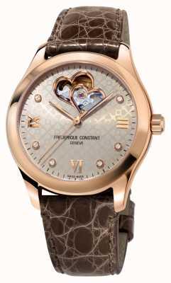 Frederique Constant | donne | cuore automatico | tono oro rosa FC-310LGDHB3B4