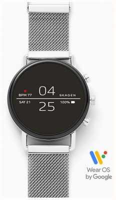 Skagen Maglia in acciaio inossidabile smartwatch collegata SKT5102