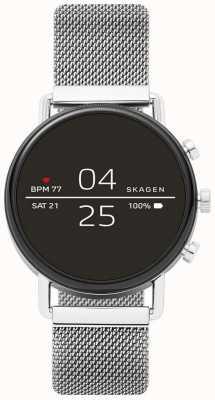 Skagen Smartwatch a maglia falster 2 in acciaio inossidabile collegato SKT5102
