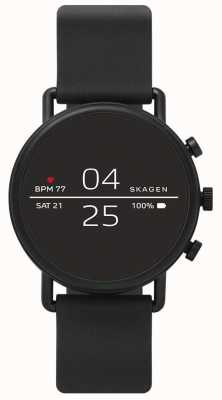 Skagen Silicone nero smartwatch connesso SKT5100