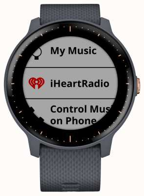 Garmin Smartwatch Vivoactive 3 musica hr gps in granito blu oro rosa 010-01985-32