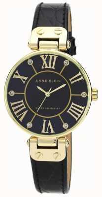 Anne Klein | orologio da donna nero e oro | AK-N1396BMBK
