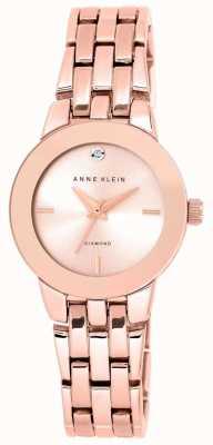 Anne Klein | orologio da donna agnes | bracciale in oro rosa | AK-N1930RGRG