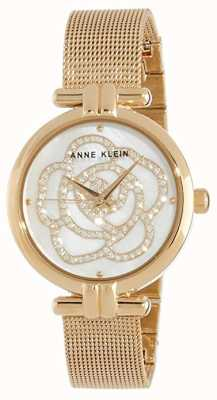 Anne Klein | orologio floreale da donna | tono dorato | AK-N3102MPGB
