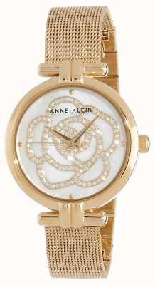 Anne Klein | orologio floreale da donna | tono dorato | AK/N3102MPGB