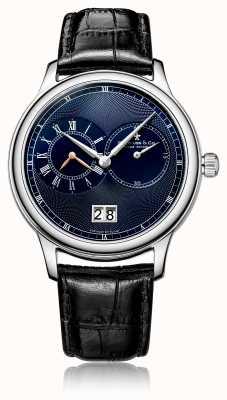 Dreyfuss Cronografo da uomo al quarzo con cinturino in pelle nera DGS00120/05