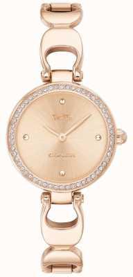 Coach | orologio da parco delle donne | quadrante in oro rosa con cinturino in oro rosa | 14503172
