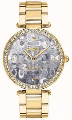 Coach | orologio da parco delle donne | argento bicolore e oro | 14503222