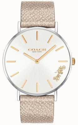 Coach | orologio da donna perry | cinturino color crema | 14503157