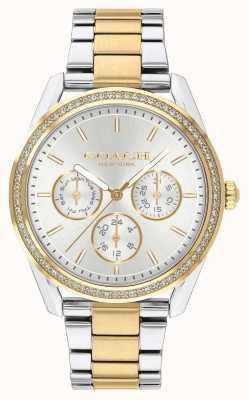 Coach | orologio preston | cronografo bicolore argento e oro | 14503268