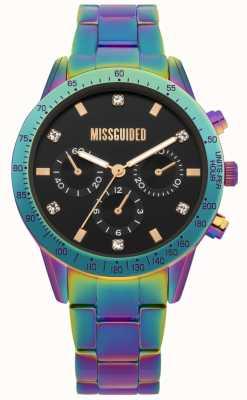 Missguided | orologio da donna | acciaio inossidabile multicolore | MG004UPM