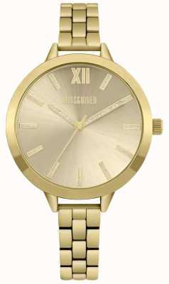 Missguided | orologio da donna | acciaio inossidabile oro | MG005GM