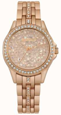 Missguided | orologio da donna | oro rosa | quadrante in pietra color oro rosa | MG013RGM