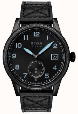 Boss   mens legacy nero   acciaio inossidabile nero   1513672