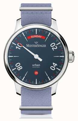 MeisterSinger Data del giorno urbano | orologio a due cinturini | URDD908