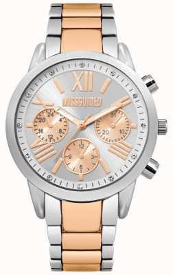 Missguided | orologio da donna | cinturino in acciaio bicolore | MG008SRM