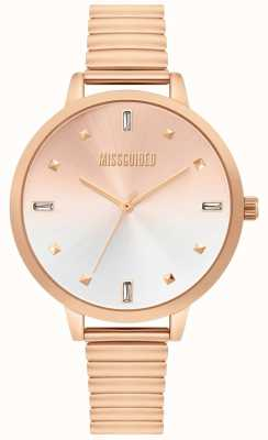 Missguided | orologio da donna in oro rosa | MG012RGM