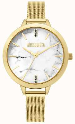 Missguided | orologio da donna in maglia d'oro | MG011GM