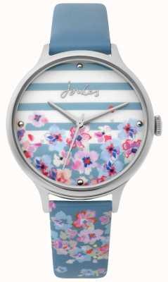 Joules | orologio da donna | cinturino con stampa floreale blu pallido | JSL015US