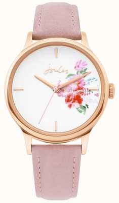 Joules | orologio da donna | cinturino in pelle nuda | cassa in oro rosa | JSL017PRG