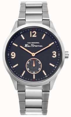 Ben Sherman | orologio da uomo in acciaio | quadrante blu | BS020SM