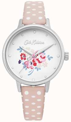Cath Kidston | womens lucky bunch watch | pelle rosa a pois | CKL070P
