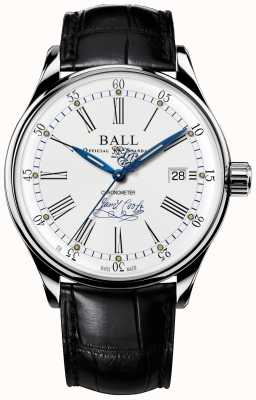 Ball Watch Company Cuoio in edizione limitata con cronometro da sforzo NM3288D-LL2CJ-WH