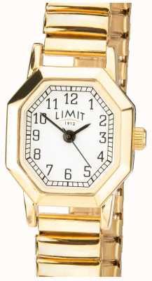 Limit | braccialetto espandibile tono oro femminile | quadrante bianco | 6498
