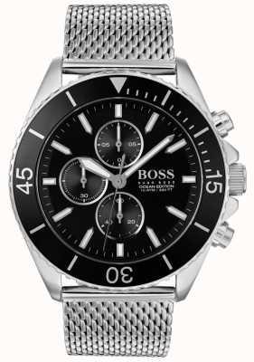 BOSS | orologio da uomo in acciaio edizione ocean | 1513701