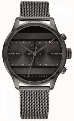 Tommy Hilfiger | orologio da uomo in maglia nera | 1791597