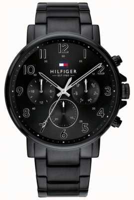 Tommy Hilfiger | orologio da uomo nero daniel | 1710383