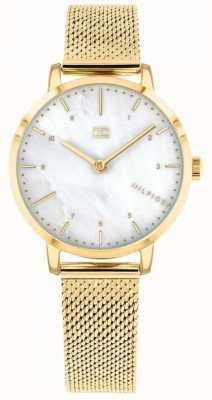 Tommy Hilfiger orologio da donna giglio in maglia d'oro | 1782043