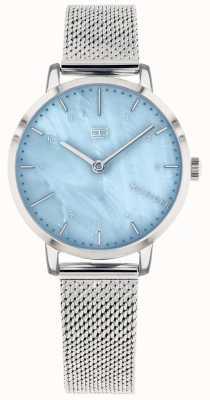 Tommy Hilfiger | orologio da donna giglio | maglia di acciaio inossidabile | quadrante blu | 1782041