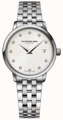 Raymond Weil | orologio da donna toccata con diamanti | 5988-ST-40081