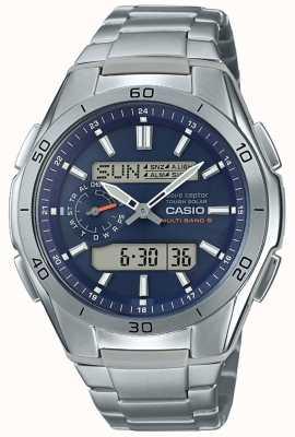 Casio   orologio da uomo cronografo radiocontrollato   WVA-M650TD-2A2ER