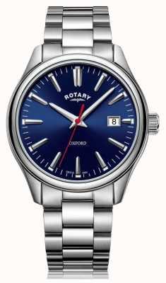 Rotary | bracciale in acciaio inossidabile da uomo | quadrante blu | GB05092/53