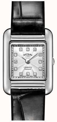 Rotary | orologio da donna in pelle nera | LS05285/70/D