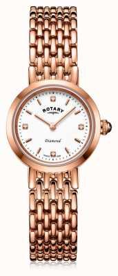 Rotary | bracciale da donna in oro rosa | LB00901/70/D