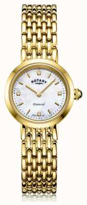 Rotary | bracciale da donna in oro | quadrante in madreperla LB00900/41/D