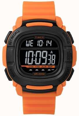 Timex | boost shock arancio e nero digitale | TW5M26500SU