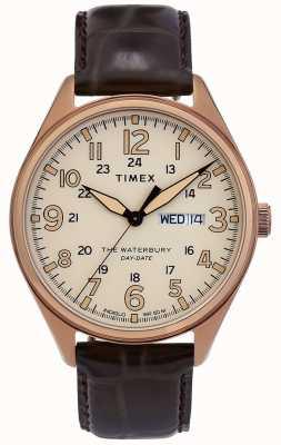 Timex | orologio tradizionale con data day waterbury | TW2R89200D7PF