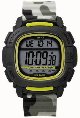 Timex | boost shock black / lime / camo digital | TW5M26600SU