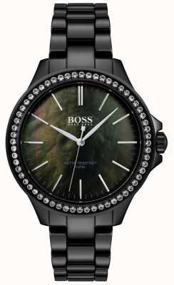 BOSS | orologio da donna in acciaio nero | 1502456