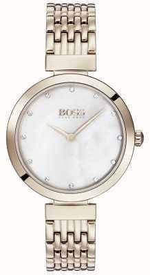 Boss | bracciale da donna in metallo oro rosa pallido | 1502480