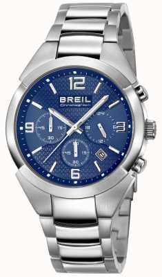 Breil | cinturino in acciaio inossidabile da uomo | quadrante blu | TW1328