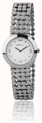 Breil | cinturino in acciaio inossidabile di seta da donna | TW1766